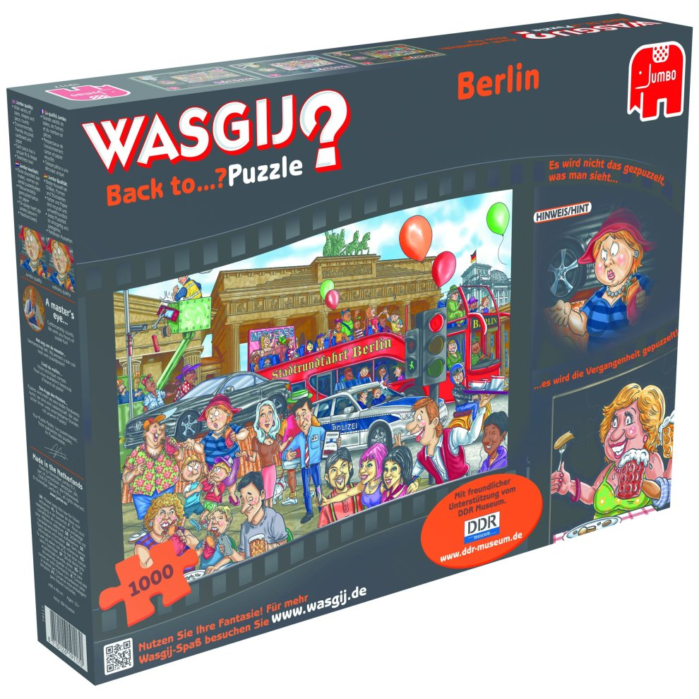 Berlin Puzzle Disney Jumbo Wasgij 19117 Back To Berlin 1000 Piece Puzzle On Onbuy