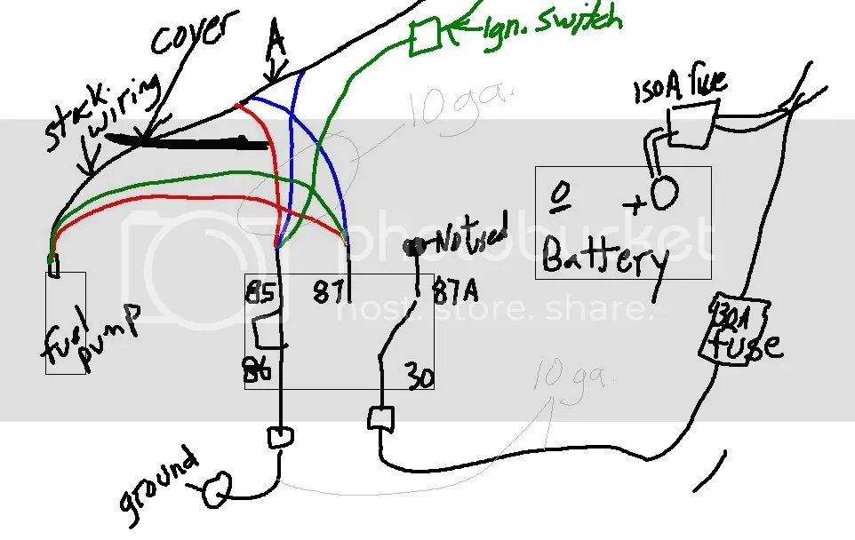 91 240sx fuel pump wiring diagram