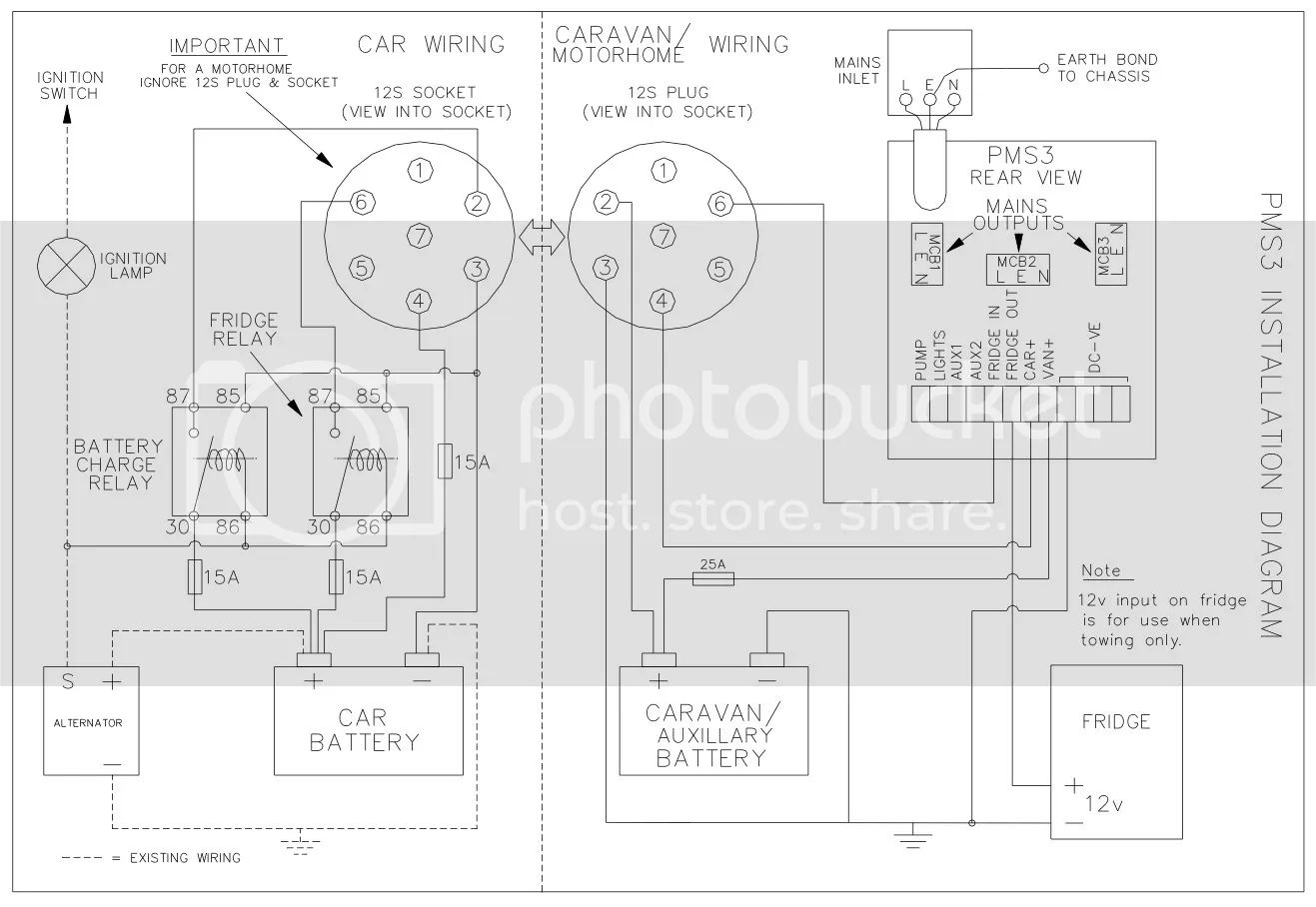 ariel arrow wiring diagram