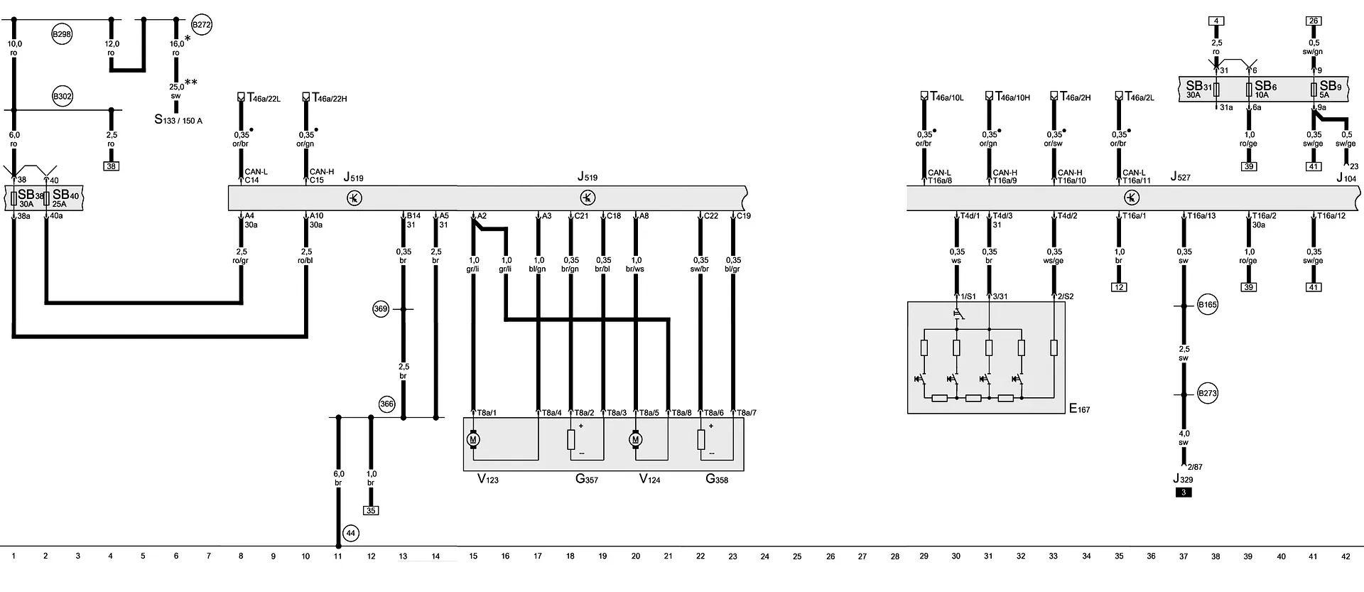 audi a8 4e wiring diagram