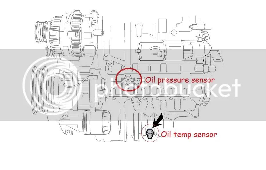 Engine Oil Pressure Sensor Location Free Wiring Diagram - wiring