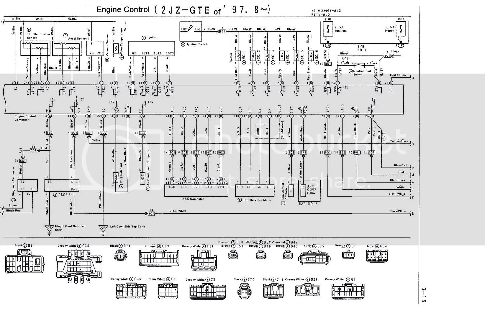 thread 2jzgte vvti wiring diagrams and ecu pinouts