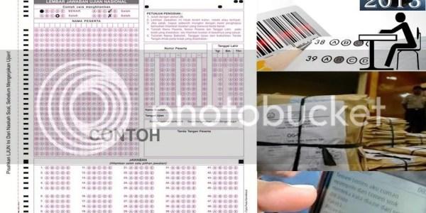 Contoh Lembar Jawaban Ujian Nasional 2013 (LJUN)