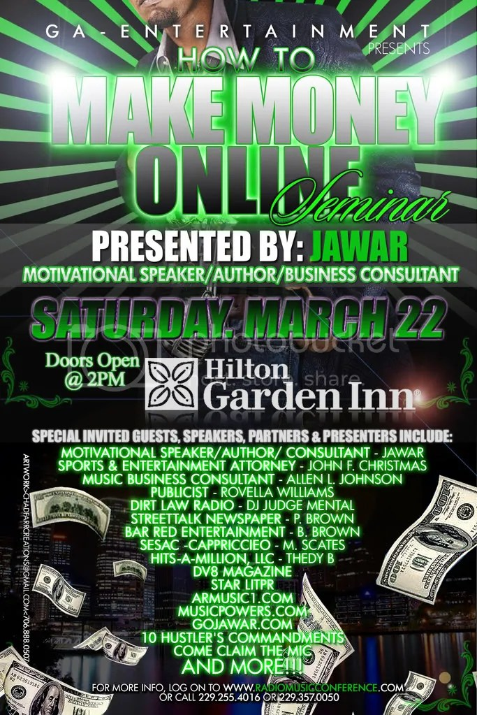i get money graphics and comments - how to make online flyers
