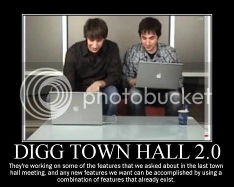 Digg Town Hall