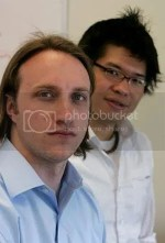 YouTube Founders Chad Hurley and Steven Chen