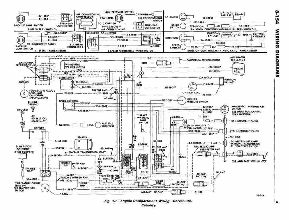 Wiring Diagram For 1966 Plymouth Barracuda Wiring Diagram
