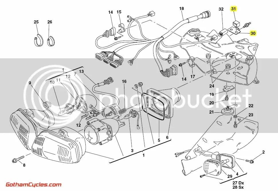 ducati 996 fuse box auto electrical wiring diagramducati relay mounting bracket 748