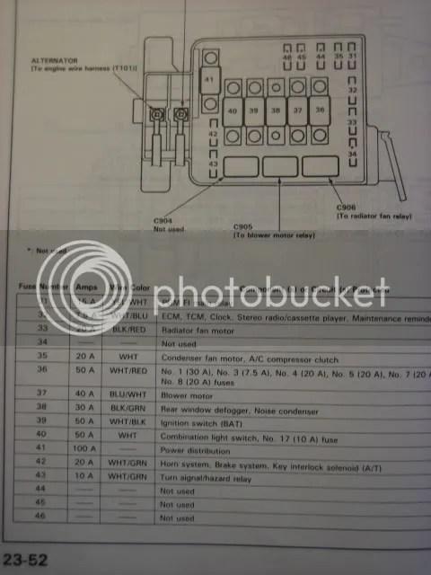 acura rsx fuse box diagram e fuse box diagram wiring diagrams