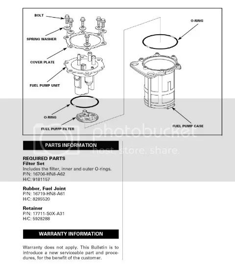 honda rancher fuel filter location