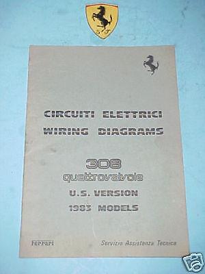 ferrari 308 wiring diagram ferrari wiring diagrams original oem