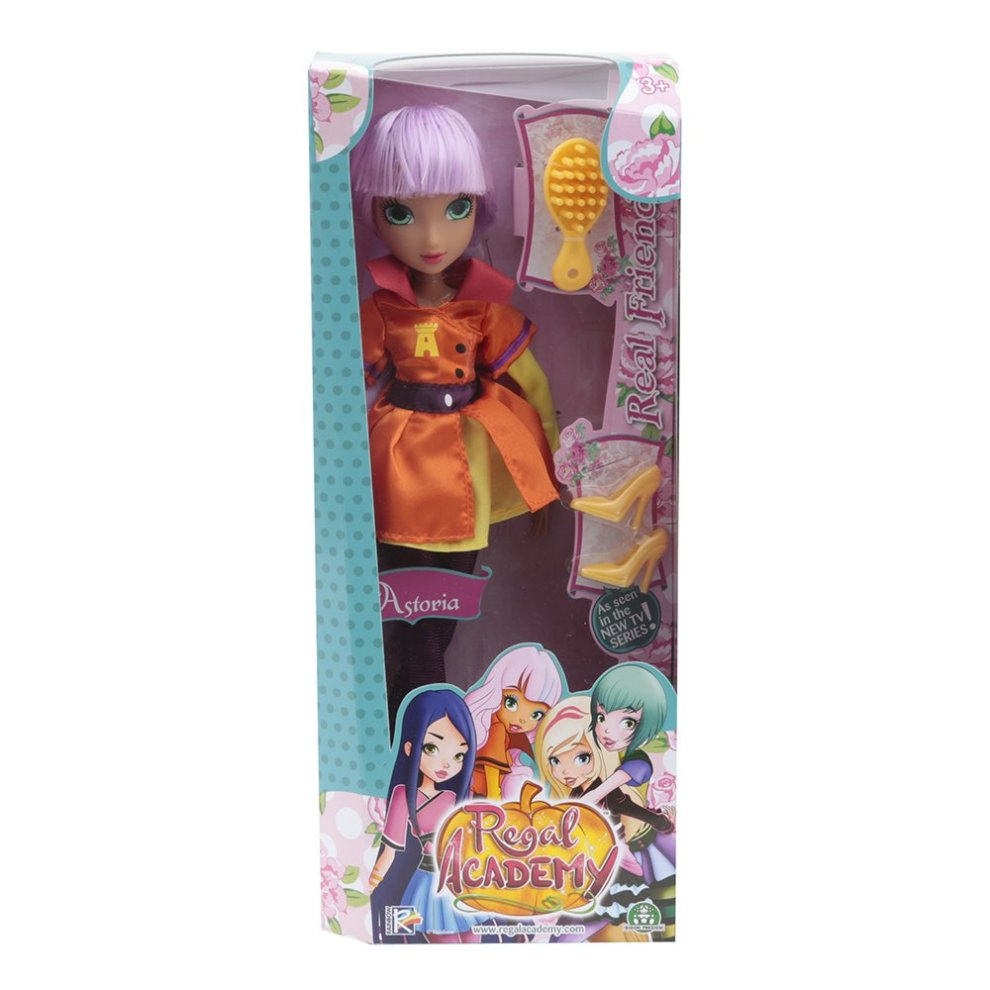 Hansa Regale Regal Academy Reg002 â  Astoria â  32 Cm â  With Extra Pair Of Doll Shoes Comb