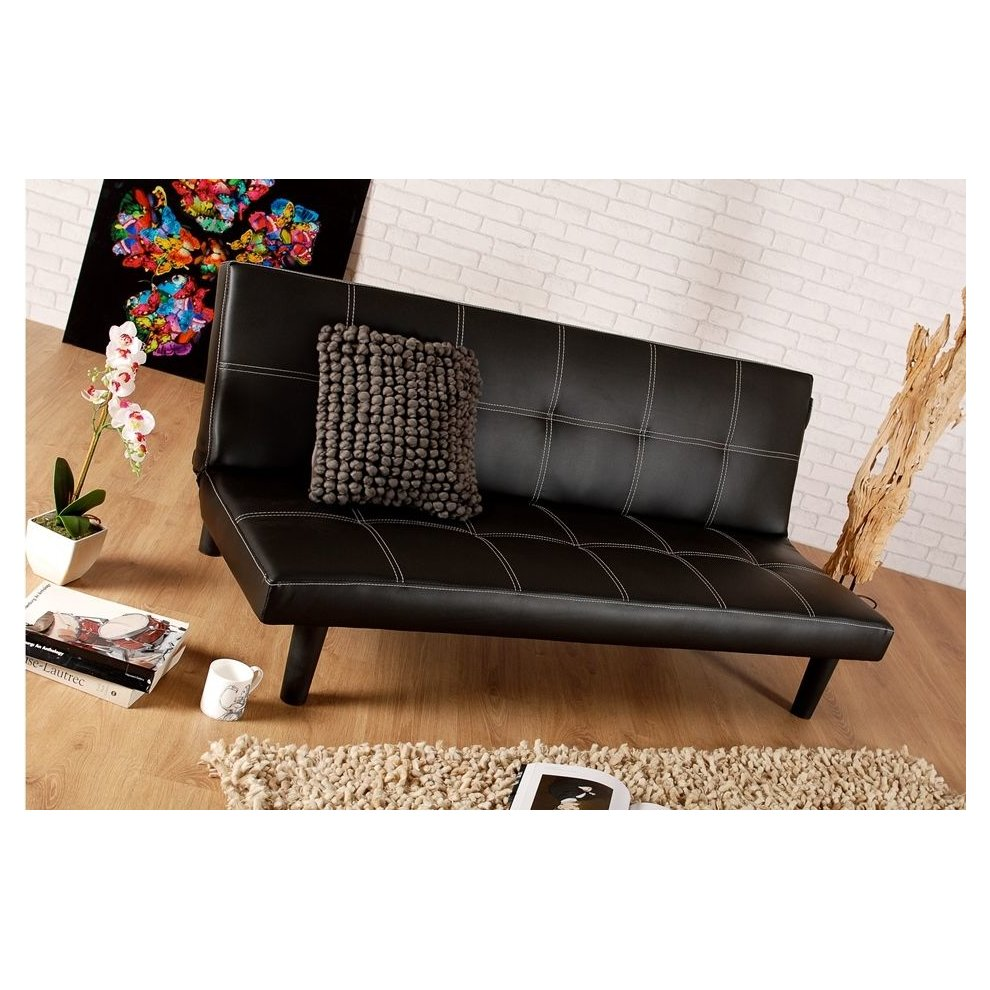Sofa Brisbane Brisbane Faux Leather Sofa Bed