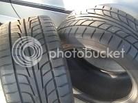 FS: 295/35/18 tires Chicago area