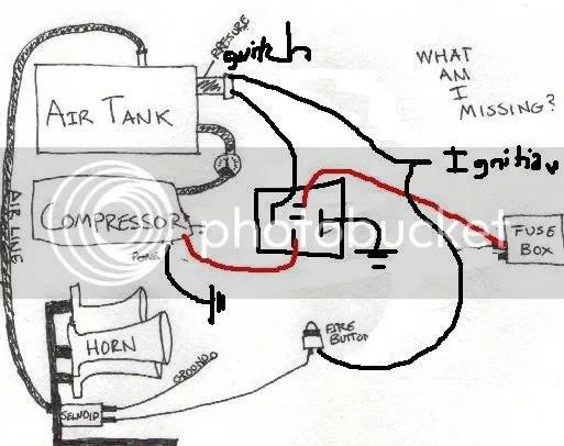 Train Horn Wiring Diagram - Wiring Diagrams