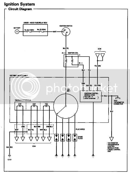 honda prelude stereo wiring diagram