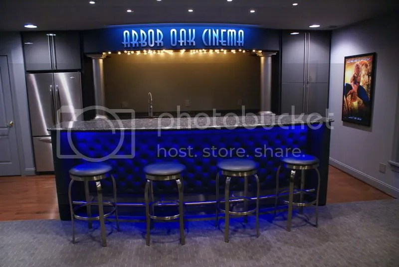 Is There A Standard Overhang For The Front Of A Bar? - Avs Forum