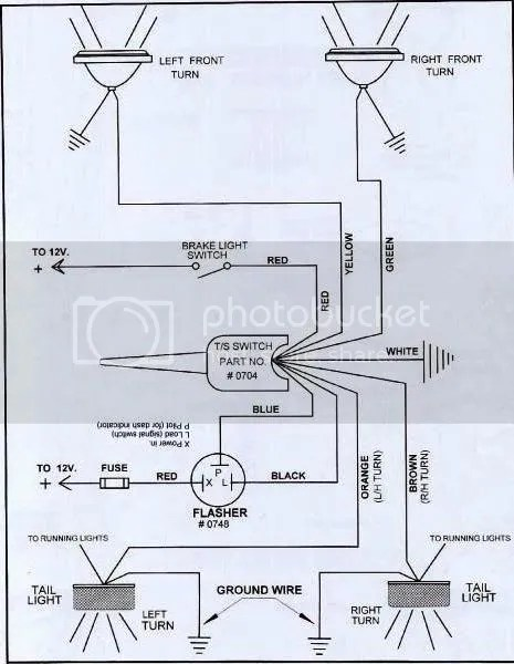 Brake / Turn Light Diagram
