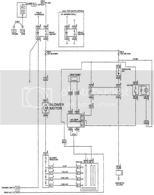 isuzu kb 300 fuse box diagram