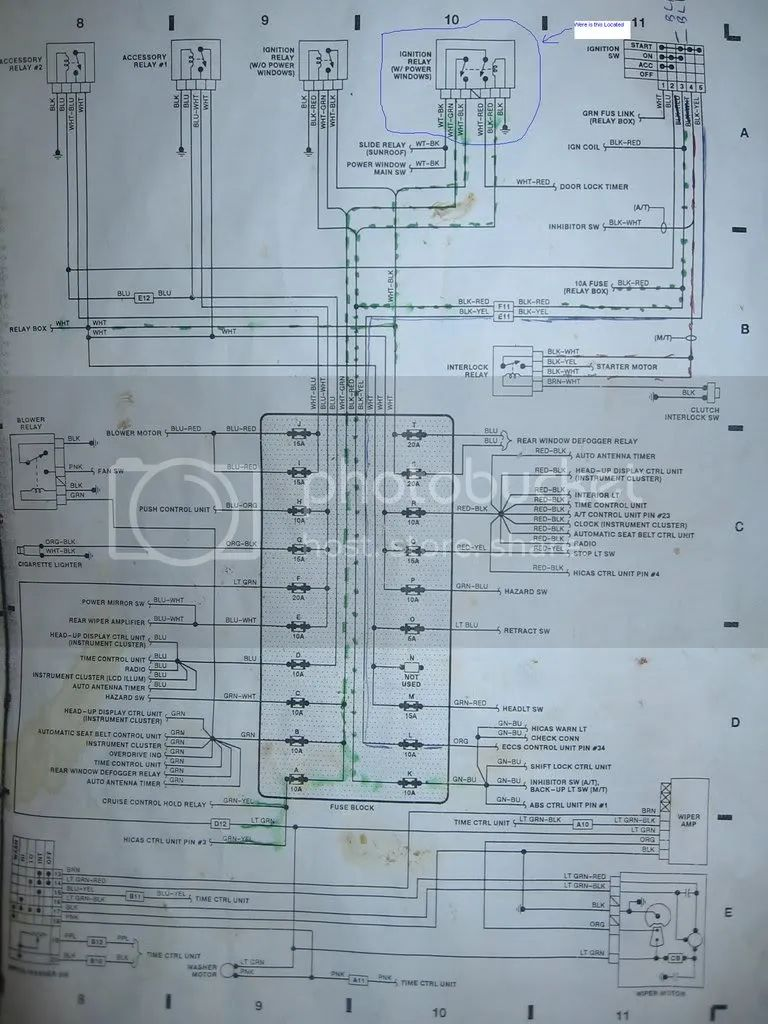 Nissan Forklift Fuse Box Auto Electrical Wiring Diagram Panel Location Mazda