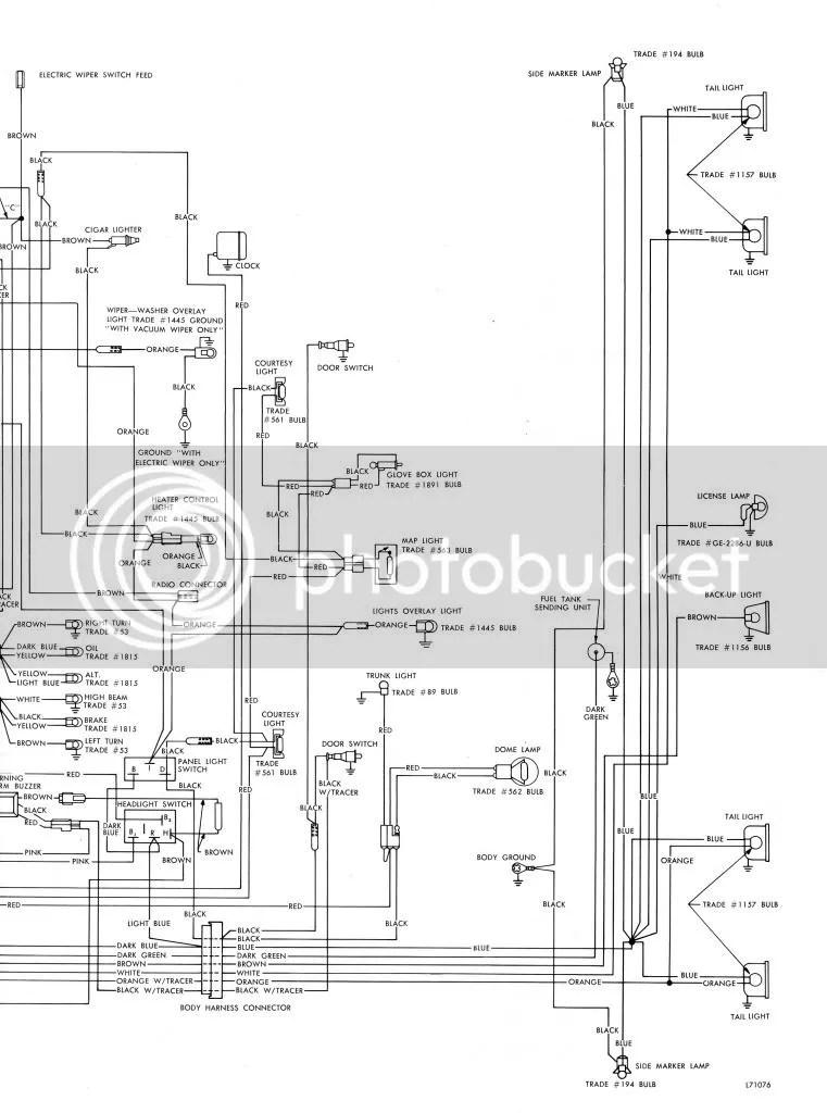 AMC JAVELIN 1971 wiring diagram - The AMC Forum - Page 1