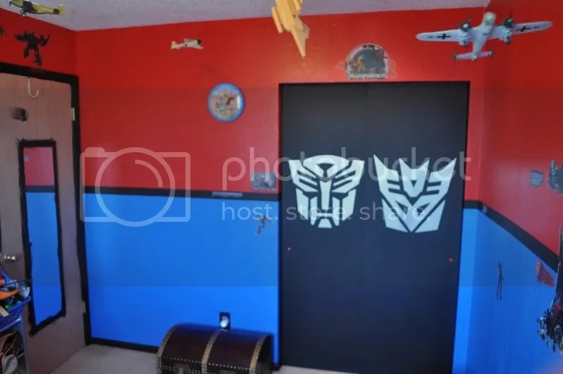 Transformers room ) Kids rooms Pinterest Room, Bedrooms and