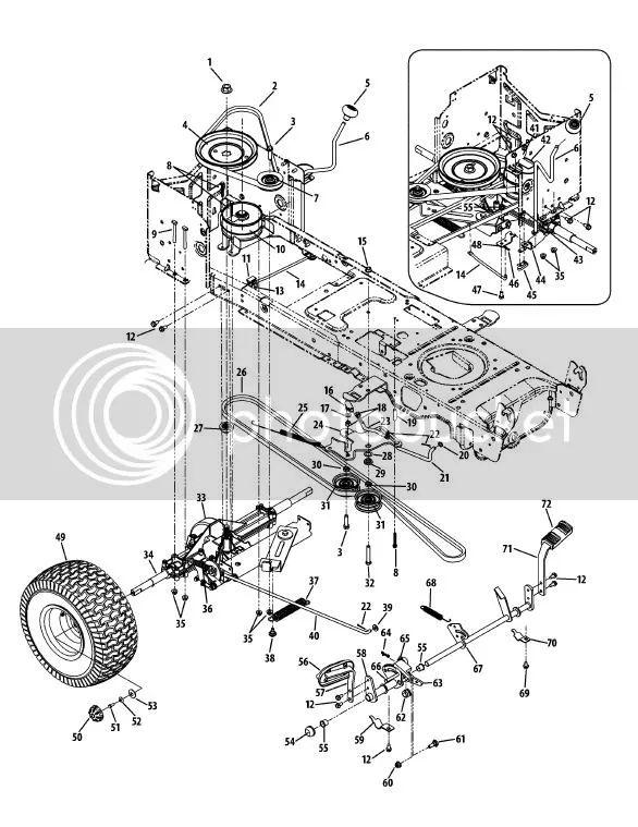 cub cadet sltx 1050 wiring diagram