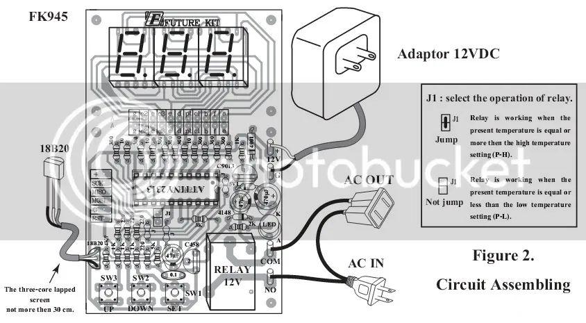 digital temperature controller electronic circuit board kit ebay