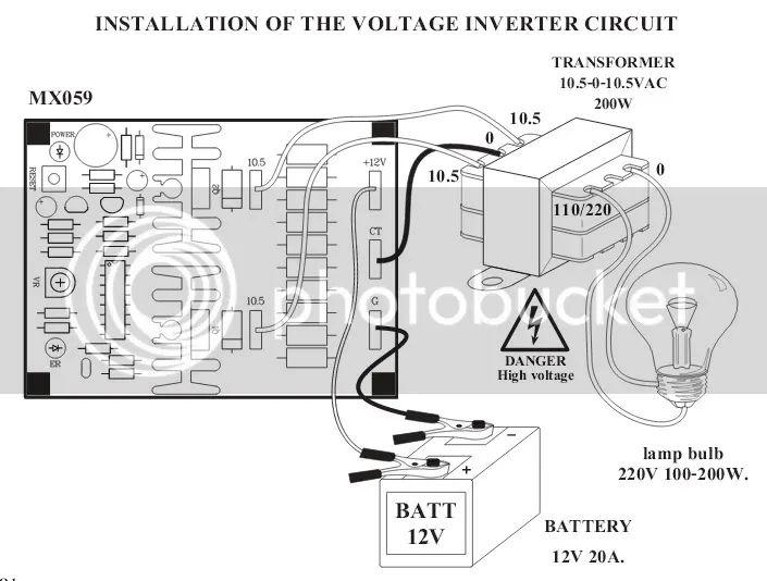 12v battery checker circuit