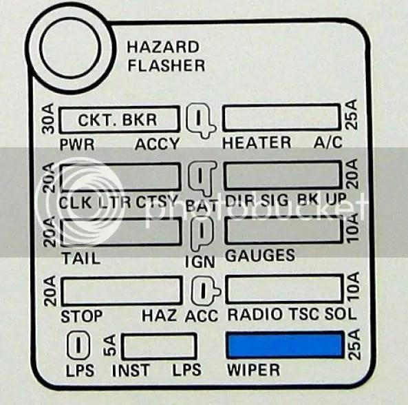 1977 Corvette Fuse Box Wiring Diagram