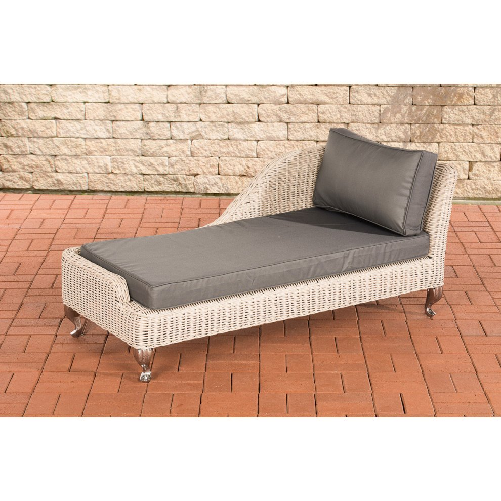 Chaiselongue Recamiere Recamiere Moss Irongrey
