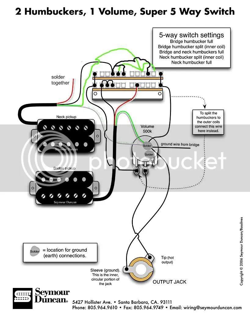 re 1 hum 1 sing 5 way switch wiring