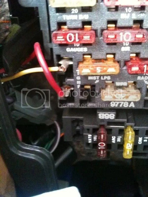 Pontiac Firebird Fuse Box Diagram - Ls1tech