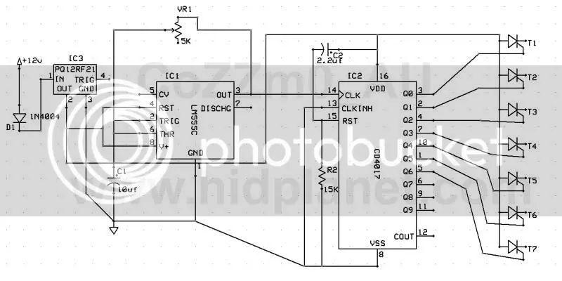 sequential turn signal schematic