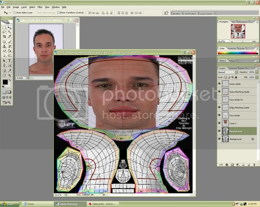 Second Life Store Second Life Forums Archive Tutorial Photo Sourcing A Face Skin