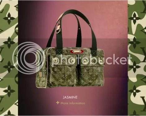 Louis Vuitton Monogramouflage Jasmine