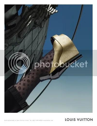 Louis Vuitton Fall-Winter 2008 Ad Campaign Eva Herzigova