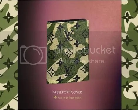 Louis Vuitton Monogramouflage Passport Cover