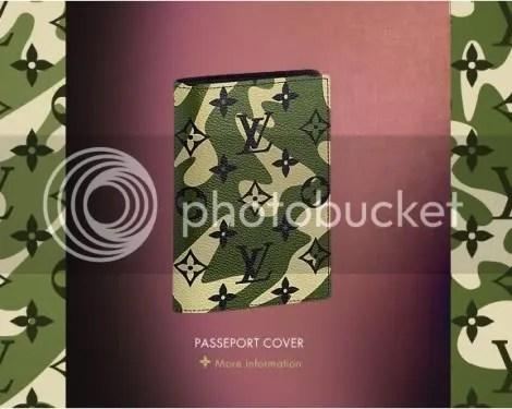 Louis Vuitton Monogramouflage Passport Cover