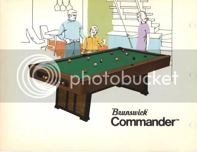 1970s Brunswick Table Images Azbilliardscom