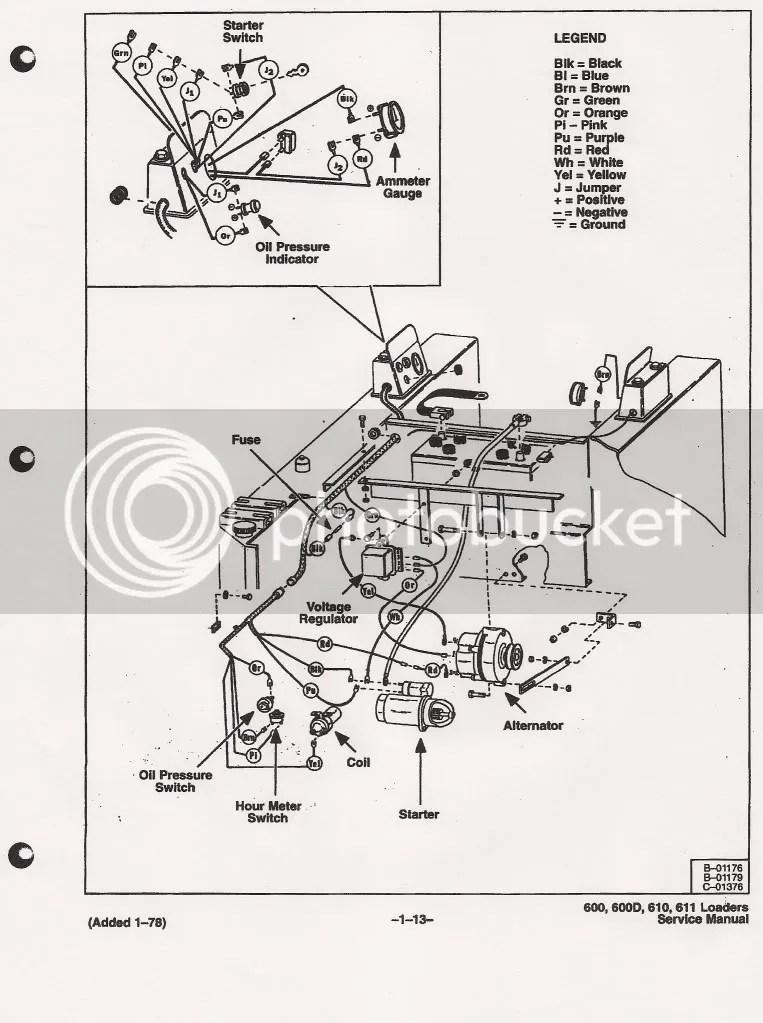 1952 allis chalmers ca wiring diagram
