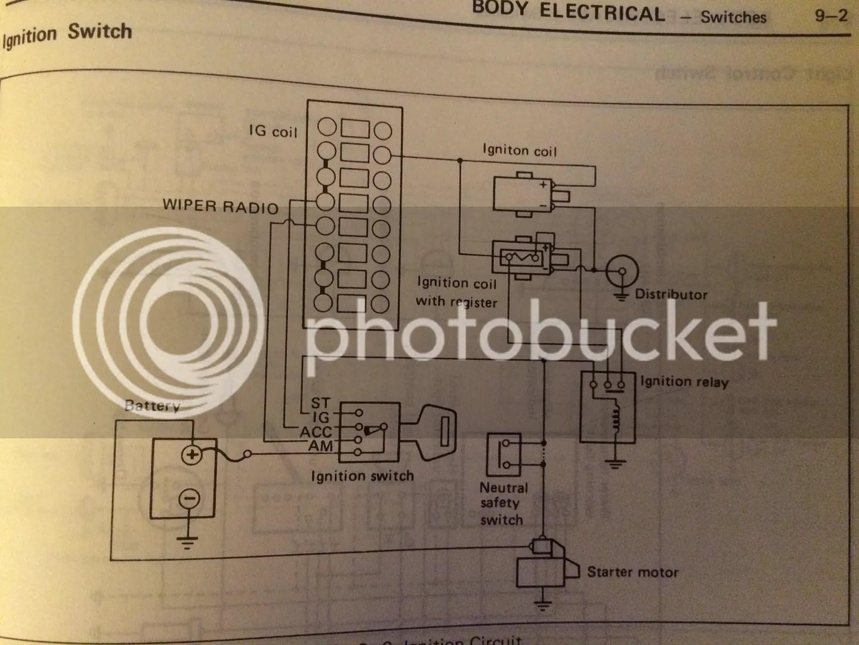 starter wiring? Toyota Minis