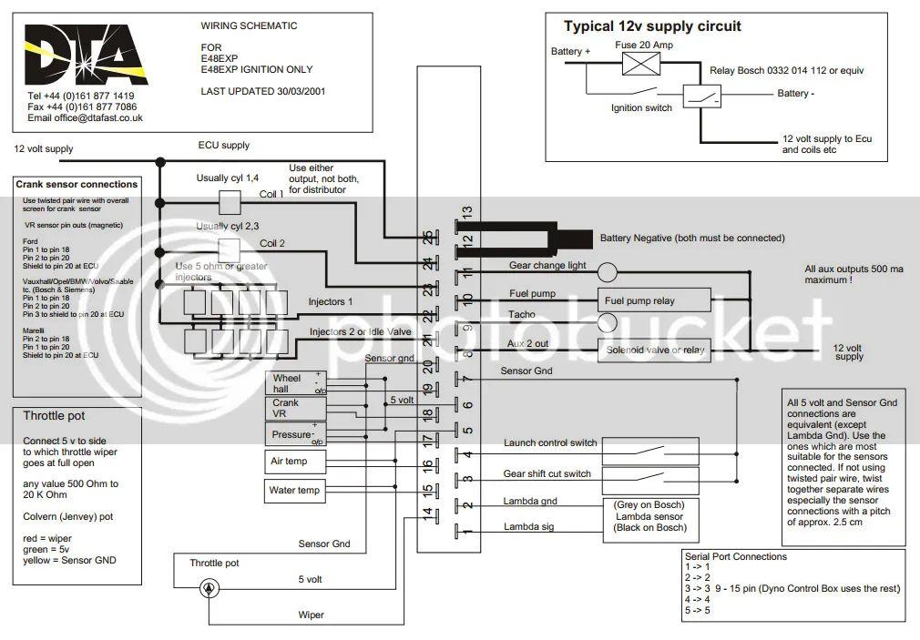 dta ecu wiring diagram