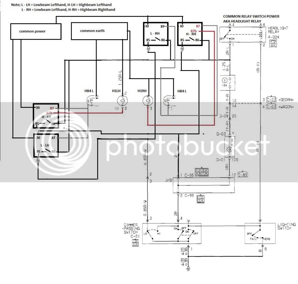 wiring diagram 5 pin relay 30amp