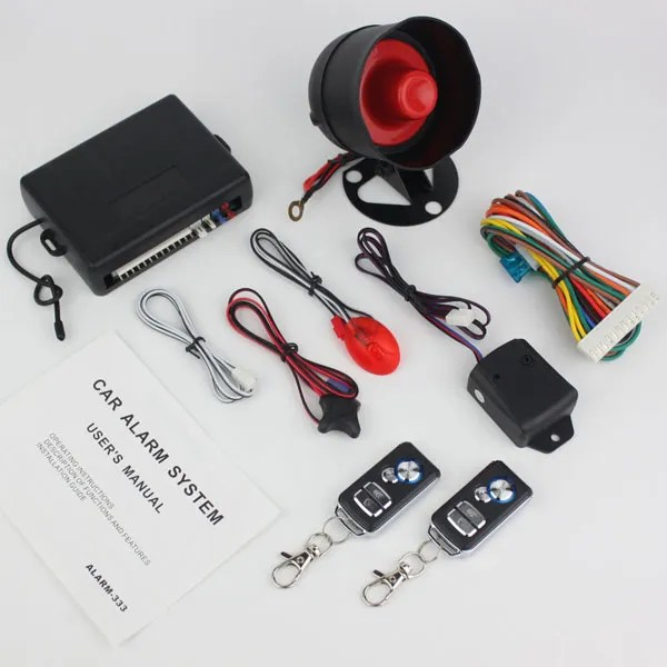 Buy SKY 4-Button 13 Pin Full Set Multi Function Car Alarm System