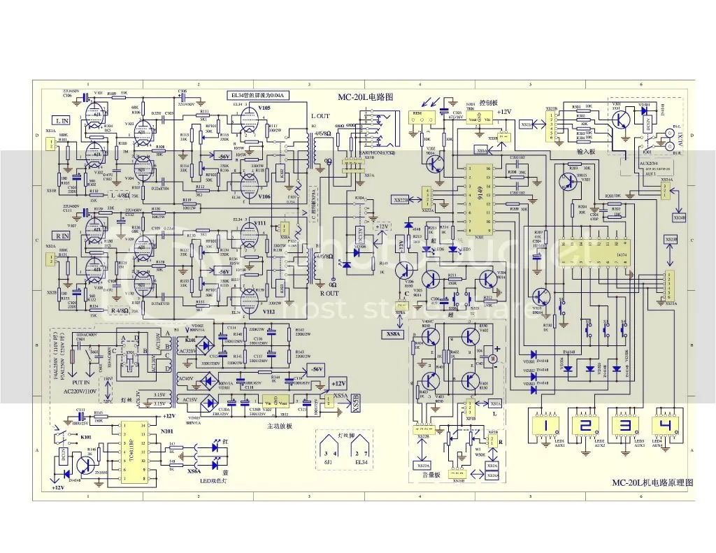 recep isolated power system wiring diagram
