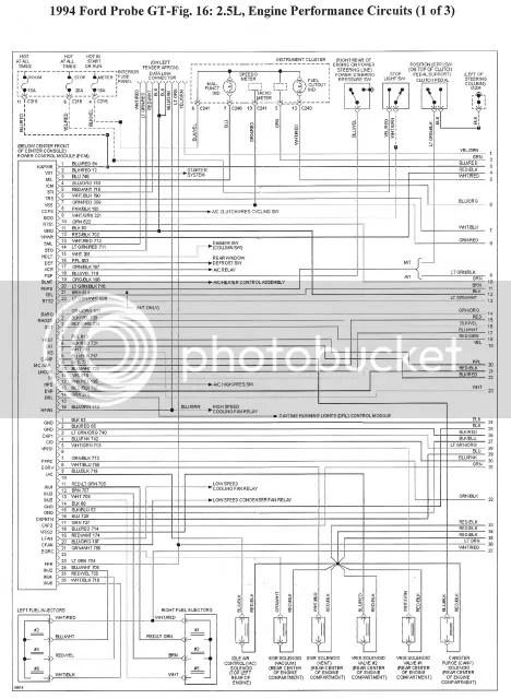 MX-6/Probe wiring diagram