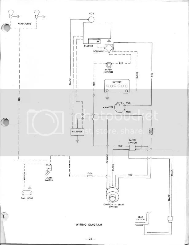 wiring diagram for c160 wheel horse electrical redsquare wheel
