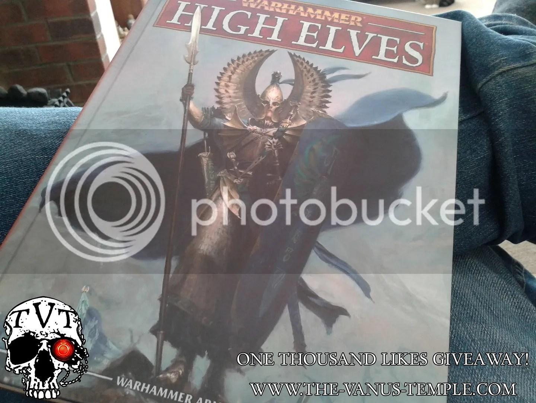 High Elf Army Book