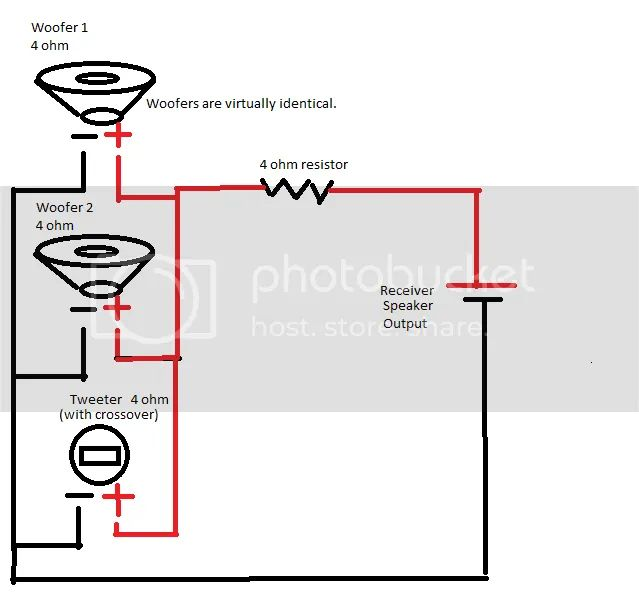 wiring house speakers in series